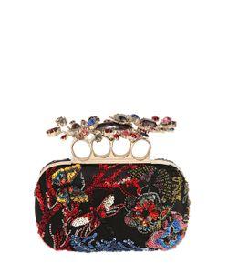 Alexander McQueen | Swarovski Embellished Knuckle Box Clutch