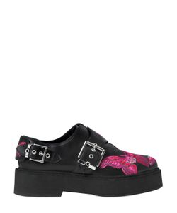 Alexander McQueen | 40mm Embroidered Leather Shoes