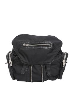 Alexander Wang | Mini Marti Nylon Backpack W/Leather Trim