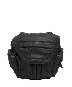 Alexander Wang | Mini Marti Washed Nappa Leather Backpack