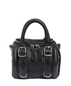 Alexander Wang | Mini Rocky Buckled Leather Shoulder Bag