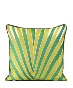 ALEXANDRA D.FOSTER | St.Barths Printed Silk Pillow