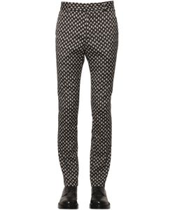 ALL APOLOGIES | 17cm Polka Dot Jacquard Pants
