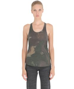 Alternative | Printed Cotton Blend Jersey Tank Top