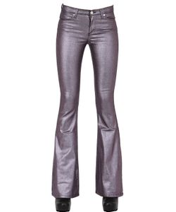 Alyx | Stretch Flared Coated Cotton Pants