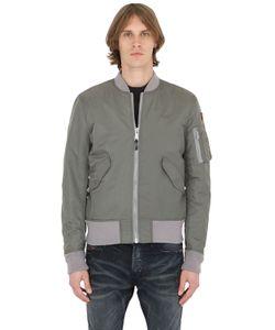 American College | Schott Nylon Bomber Jacket
