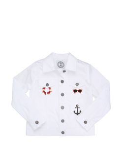 AN ITALIAN THEORY | Light Stretch Cotton Gabardine Jacket