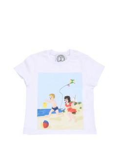 AN ITALIAN THEORY | Printed Cotton Jersey T-Shirt