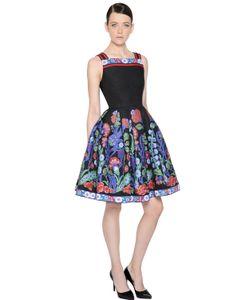 Andrew Gn | Floral Jacquard Fil Coupè Dress