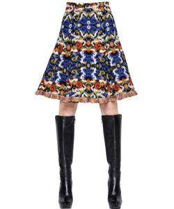 Andrew Gn | Wool Jacquard Skirt