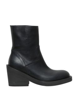 Ann Demeulemeester | 70mm Leather Ankle Boots