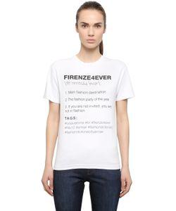 ANNA K | Firenze4ever Cotton T-Shirt