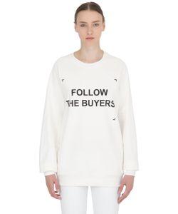 ANNA K | Follow The Buyers Cotton Sweatshirt