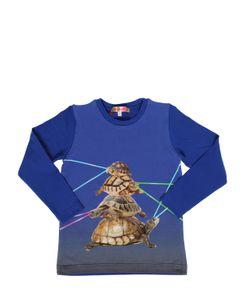 ANNE KURRIS | Turtles Printed Cotton Jersey T-Shirt