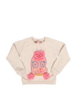 ANNE KURRIS | Poodle Patch Cotton Sweatshirt