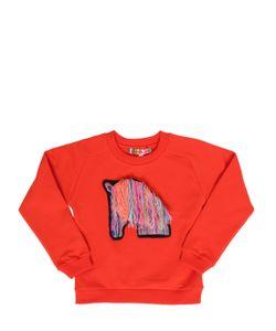 ANNE KURRIS | Horse Patch Cotton Sweatshirt