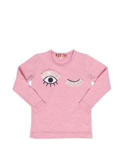 ANNE KURRIS | Wink Cotton Jersey Long Sleeve T-Shirt