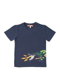 ANNE KURRIS | Embroidered Cotton T-Shirt