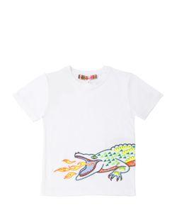 ANNE KURRIS | Embroidered Cotton T-Shirt