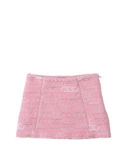 ANNE KURRIS | Lurex Jacquard Mini Skirt