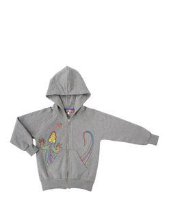 ANNE KURRIS | Hooded Zippered Cotton Sweatshirt