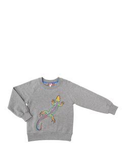 ANNE KURRIS | Embroidered Cotton Sweatshirt