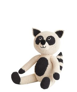 ANNE-CLAIRE PETIT | Hand-Crocheted Organic Cotton Raccoon