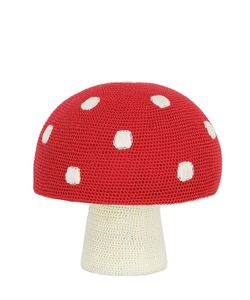ANNE-CLAIRE PETIT | Hand-Crocheted Mushroom Pouf