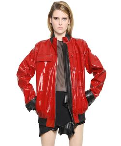 Anthony Vaccarello | Nappa Patent Leather Jacket