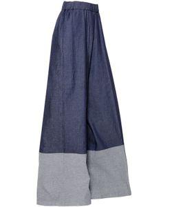Antonio Marras | High Waist Wide Leg Stretch Denim Jeans