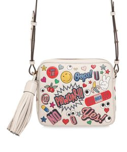 Anya Hindmarch | Stickers Embossed Leather Shoulder Bag