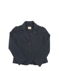 Armani Junior | Gathered Viscose Blend Jacket