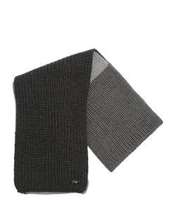 Armani Junior | Tricot Blend Wool Scarf