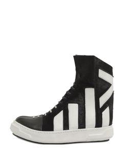 ARTSELAB | Ponyskin Leather High Top Sneakers