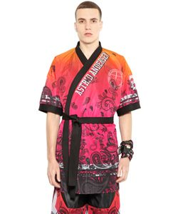 Astrid Andersen | Gradient Printed Techno Mesh Kimono