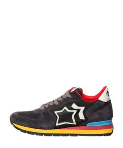 ATLANTIC STARS | Suede Nylon Running Sneakers
