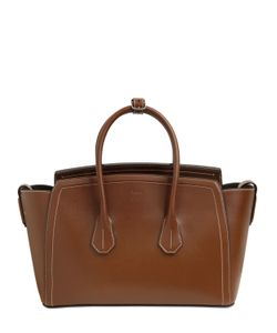 Bally | Medium Leather Bag With Stitching Detail