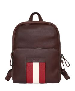 Bally | Web Leather Backpack