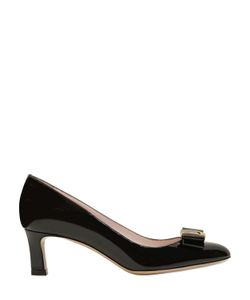 Bally | 55mm Bellyna Bow Patent Leather Pumps