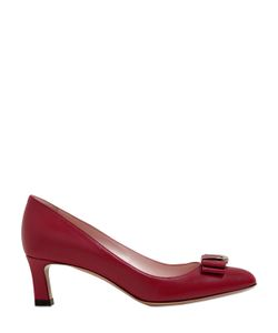 Bally | 55mm Bellyna Bow Leather Pumps