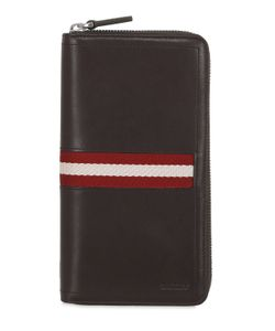Bally | Talen Leather Zip Around Wallet