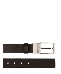 Bally | 35mm Reversible Dauphine Leather Belt
