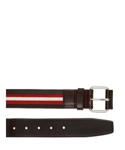 Bally | 40mm Tianis-40 Leather Belt