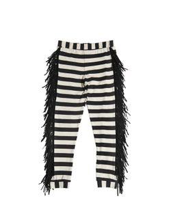 Bang Bang Copenhagen | Striped Jersey Legging With Fringe