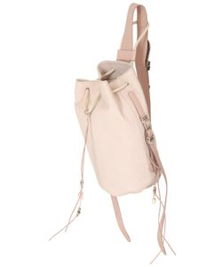 Barbara Bonner | Ellie Snake Embossed Leather Backpack