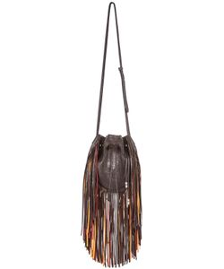 Barbara Bonner | Tree Of Life Embossed Leather Bucket Bag