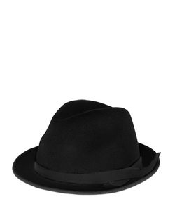 BARBISIO | Wool Felt Trilby Hat