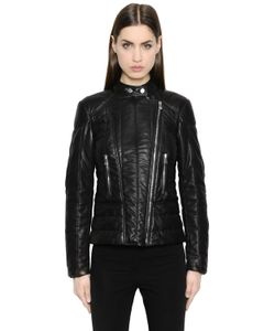 BELSTAFF AND LIV TYLER | Quilted Nappa Leather Jacket