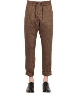 BERNARDO GIUSTI | Wool Knickerbocker Jogging Pants
