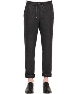 BERNARDO GIUSTI | Wool Flannel Jogging Pants